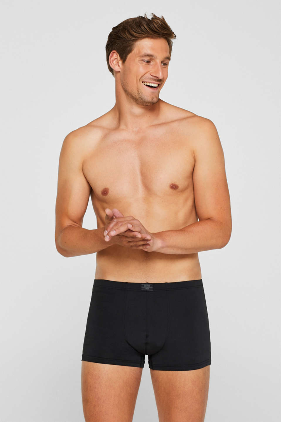 Esprit - Microfibre hipster shorts in a triple pack