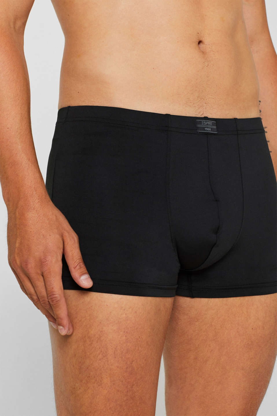 Microfibre hipster shorts in a triple pack, BLACK, detail image number 2