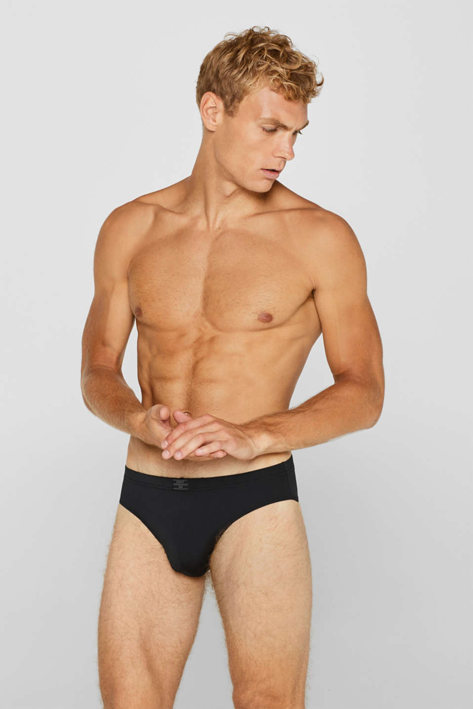 Esprit - Microfibre briefs in a triple pack