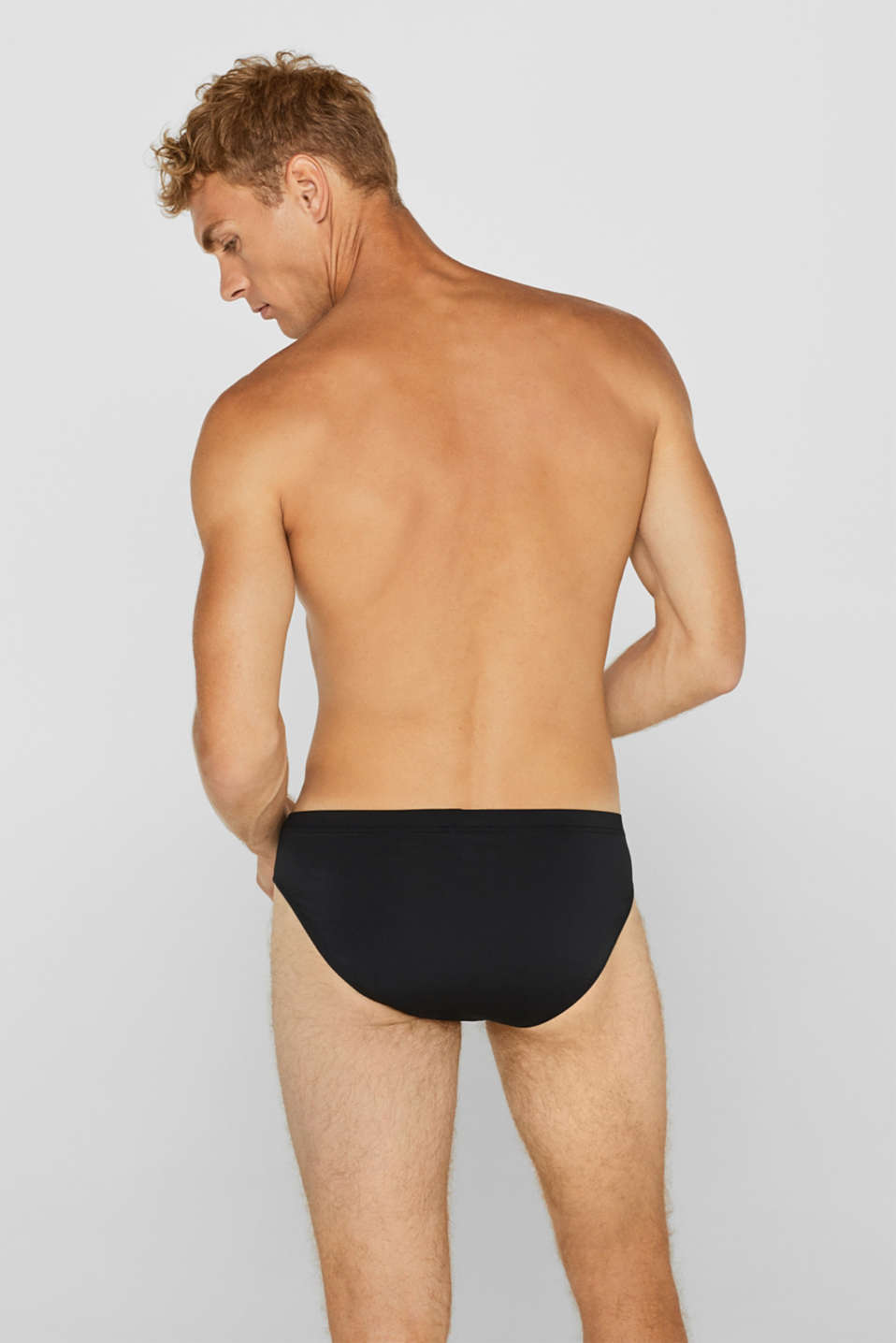 Microfibre briefs in a triple pack, BLACK, detail image number 1