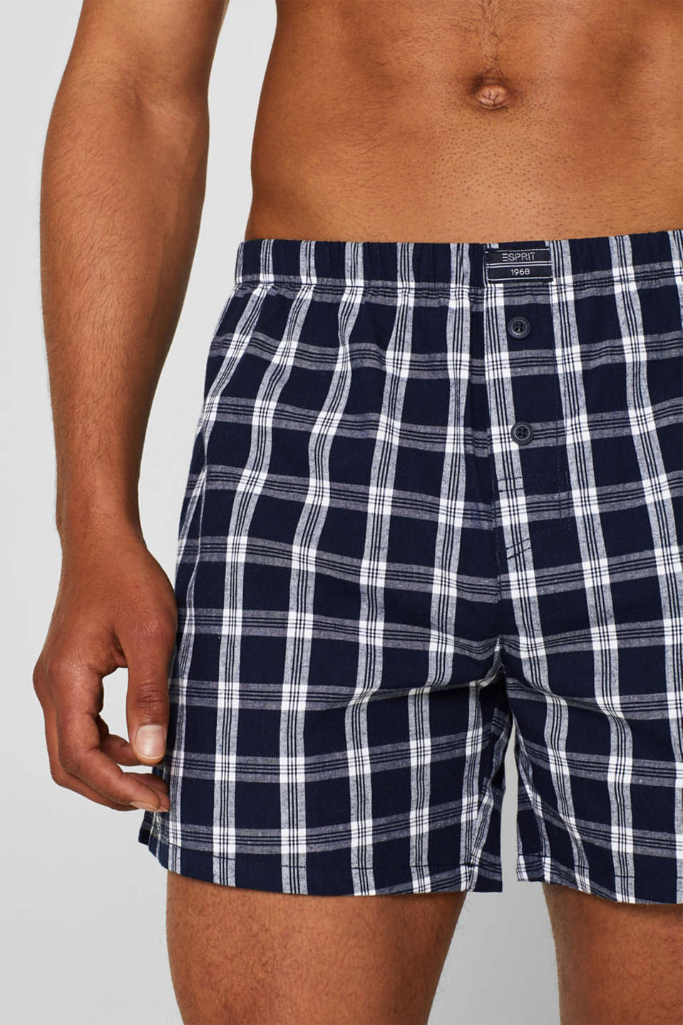 Boxer shorts in a double pack, NAVY, detail image number 2