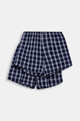 Boxer shorts in a double pack, NAVY, detail