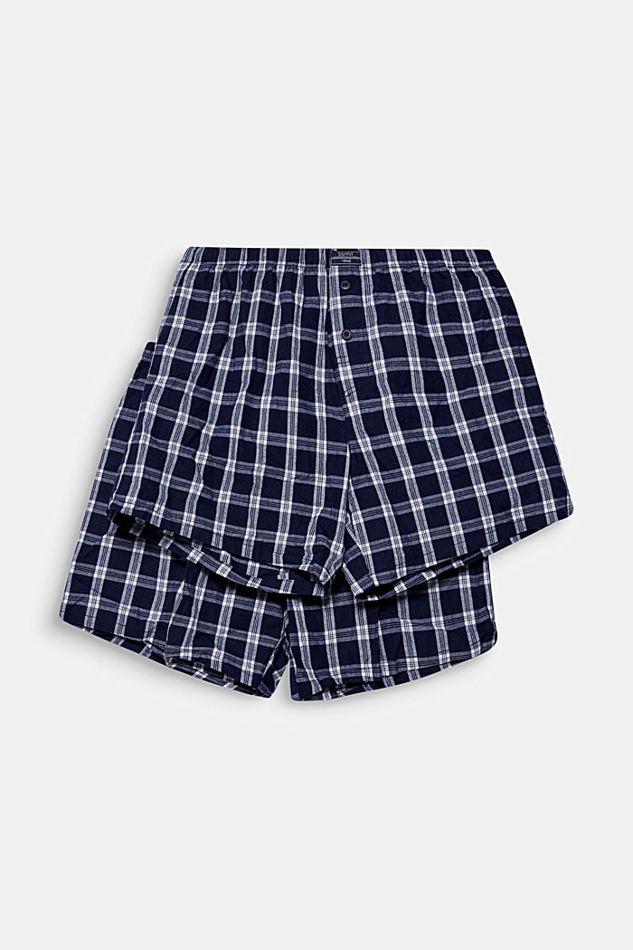 Boxer-Shorts im Doppelpack, NAVY, detail image number 0