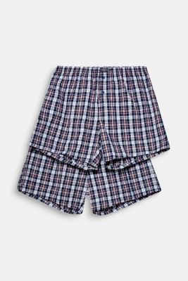 Boxer shorts in a double pack, RED, detail