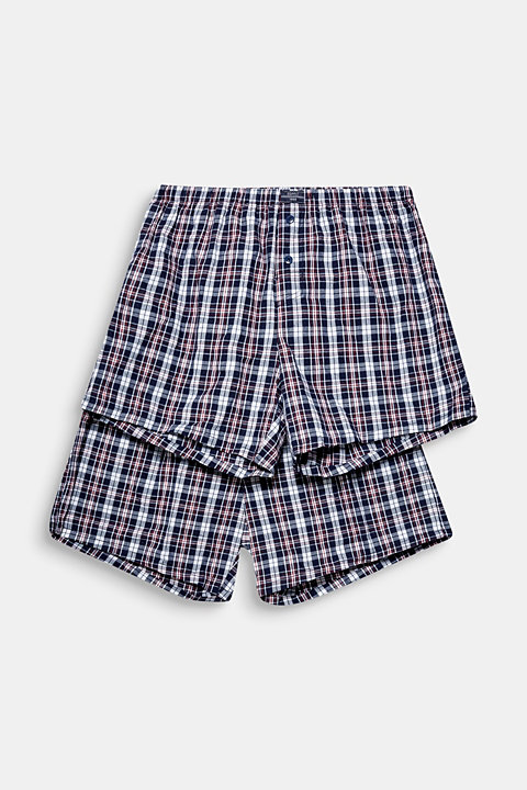 Boxer shorts in a double pack
