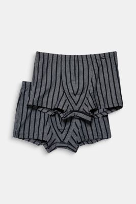 Double pack of jersey shorts, BLACK, detail