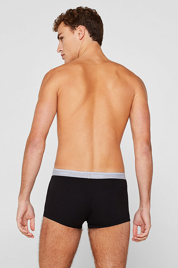 Triple pack: Hipster shorts with a logo waistband, BLACK, detail image number 1
