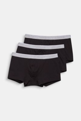 Triple pack: Hipster shorts with a logo waistband, BLACK, detail