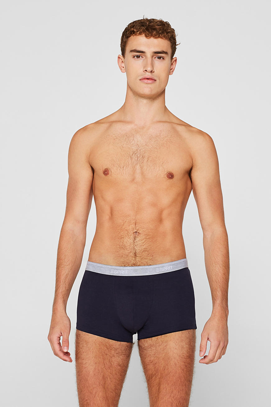 Triple pack: Hipster shorts with a logo waistband