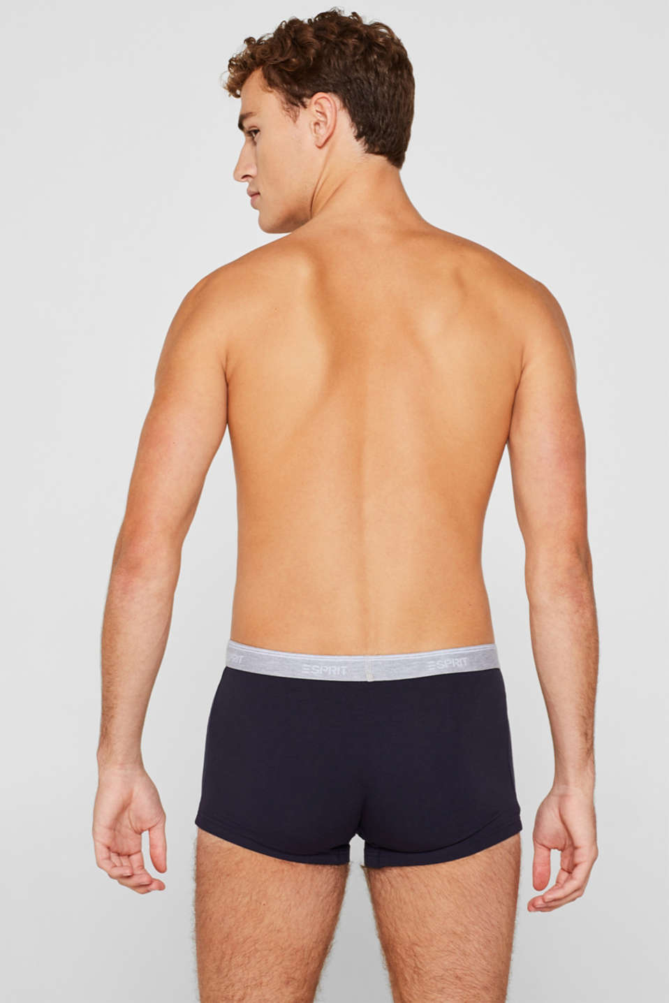 Triple pack: Hipster shorts with a logo waistband, NAVY, detail image number 1