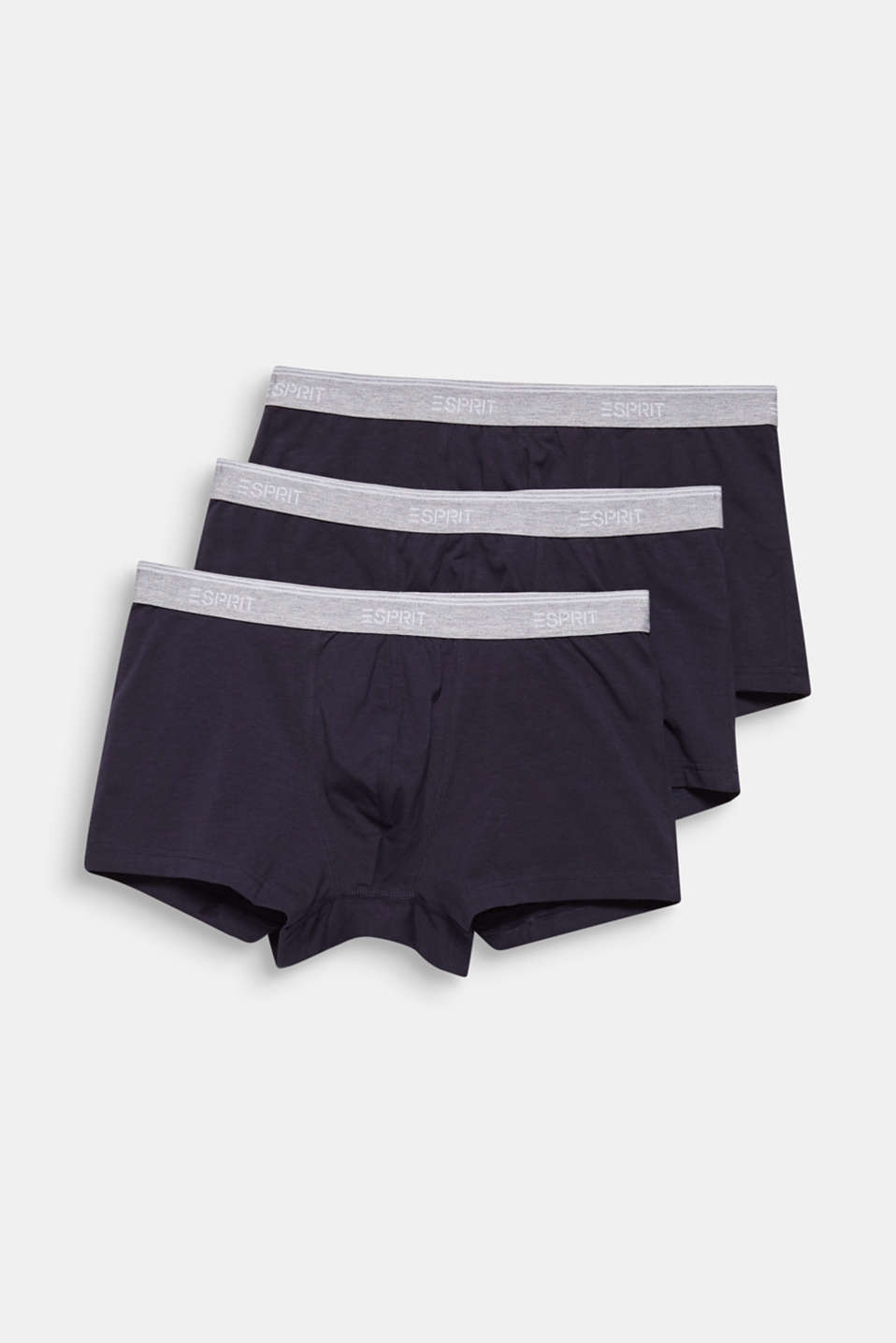 Triple pack: Hipster shorts with a logo waistband, NAVY, detail image number 3