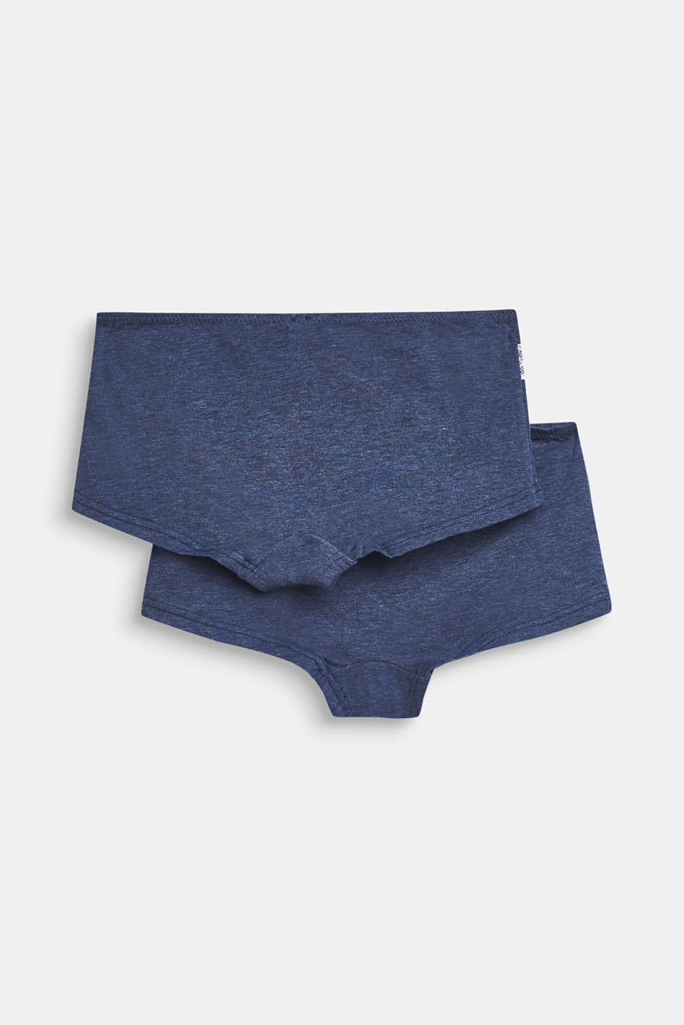 Double pack of shorts with lace, NAVY, detail image number 2