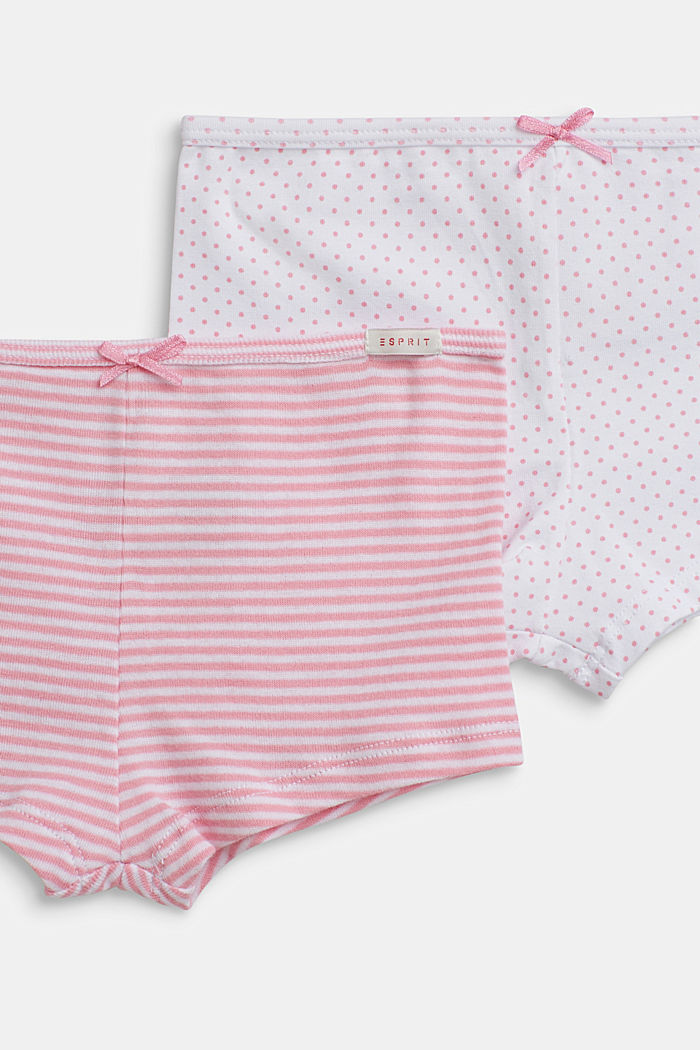 Shortys en lot de 2, 100 % coton