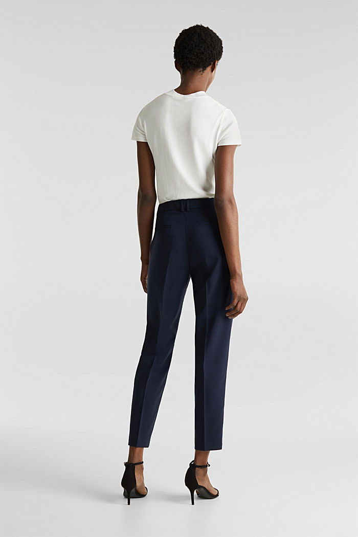 SPRING Mix + Match stretch trousers, NAVY, detail image number 3