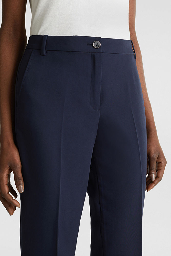 SPRING Mix + Match stretch trousers, NAVY, detail image number 2