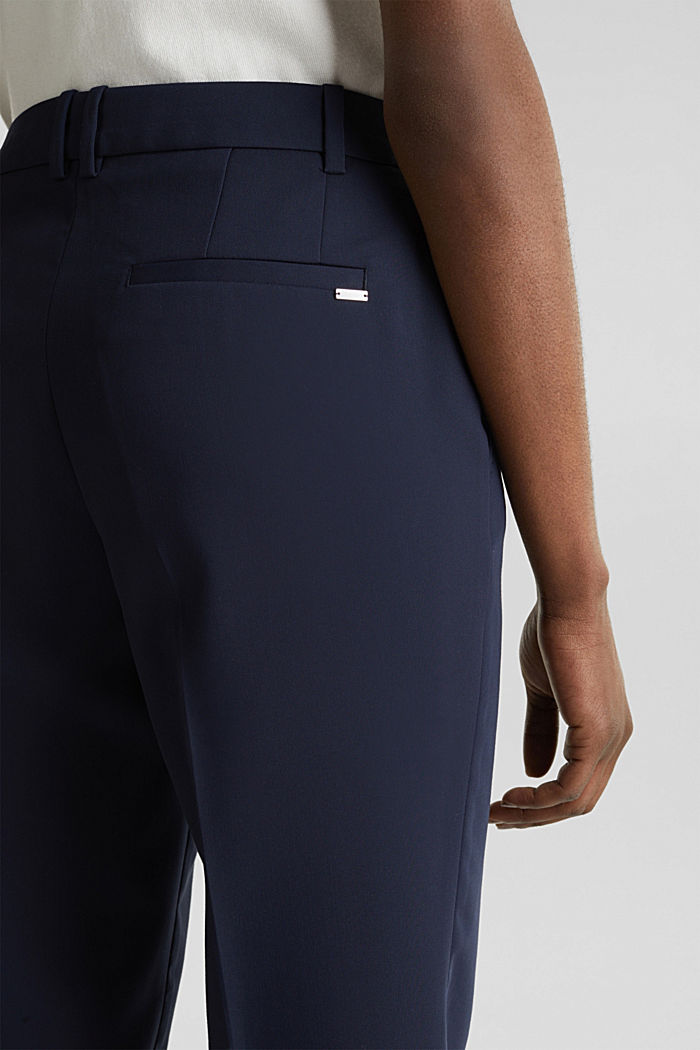 SPRING Mix + Match stretch trousers, NAVY, detail image number 5