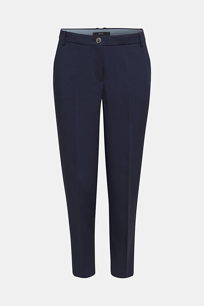 SPRING Mix + Match stretch trousers, NAVY, detail image number 7