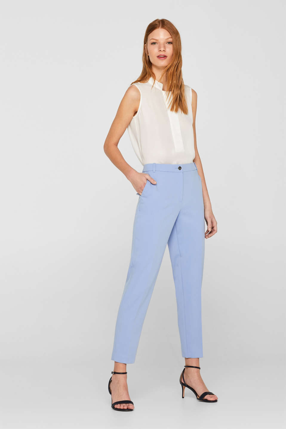 Esprit - SPRING TWILL mix + match stretchbroek