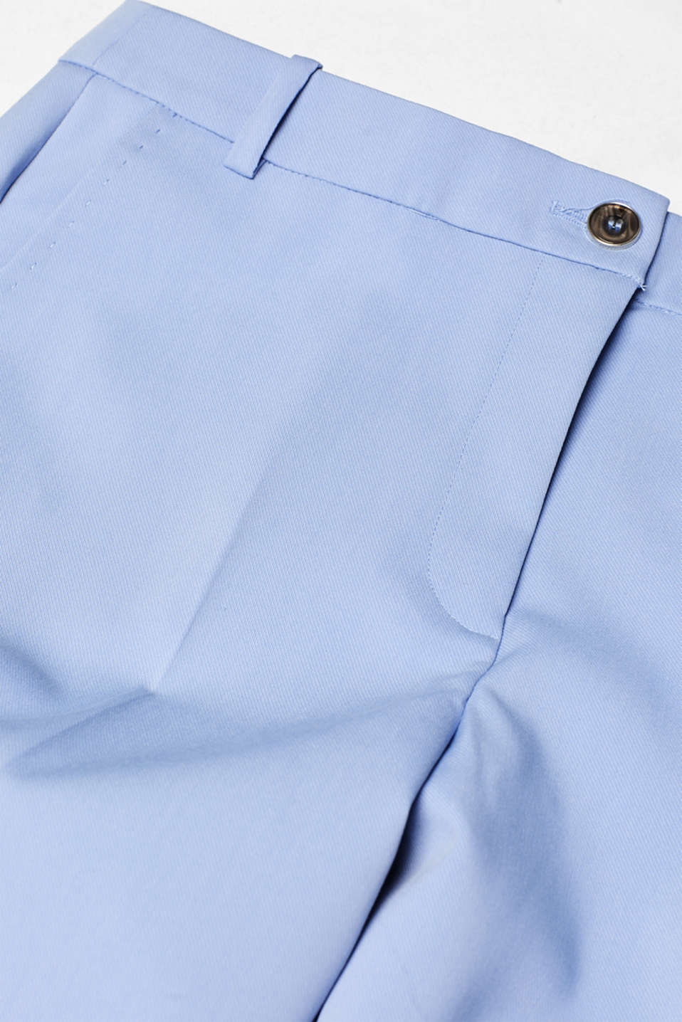 SPRING Mix + Match stretch trousers, LIGHT BLUE, detail image number 4