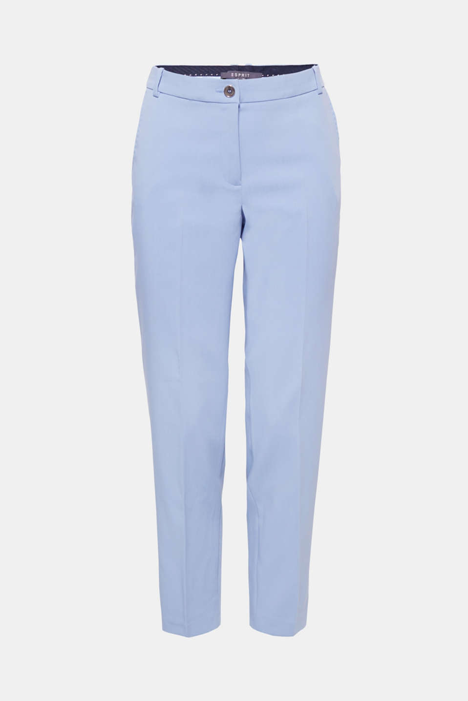 SPRING Mix + Match stretch trousers, LIGHT BLUE, detail image number 6