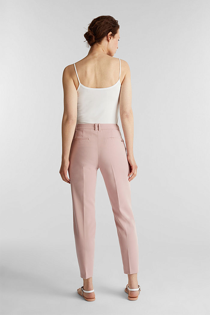 SPRING Mix + Match stretch trousers, OLD PINK, detail image number 3