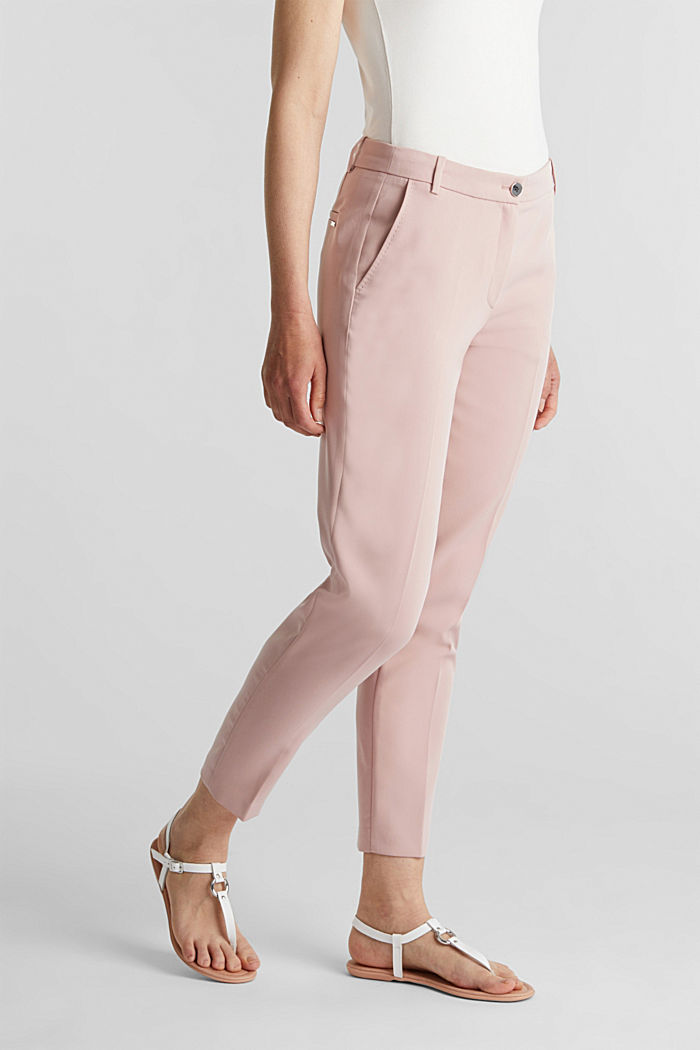 SPRING Mix + Match stretch trousers, OLD PINK, detail image number 6