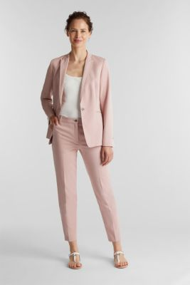 SPRING Mix + Match stretch trousers, OLD PINK, detail