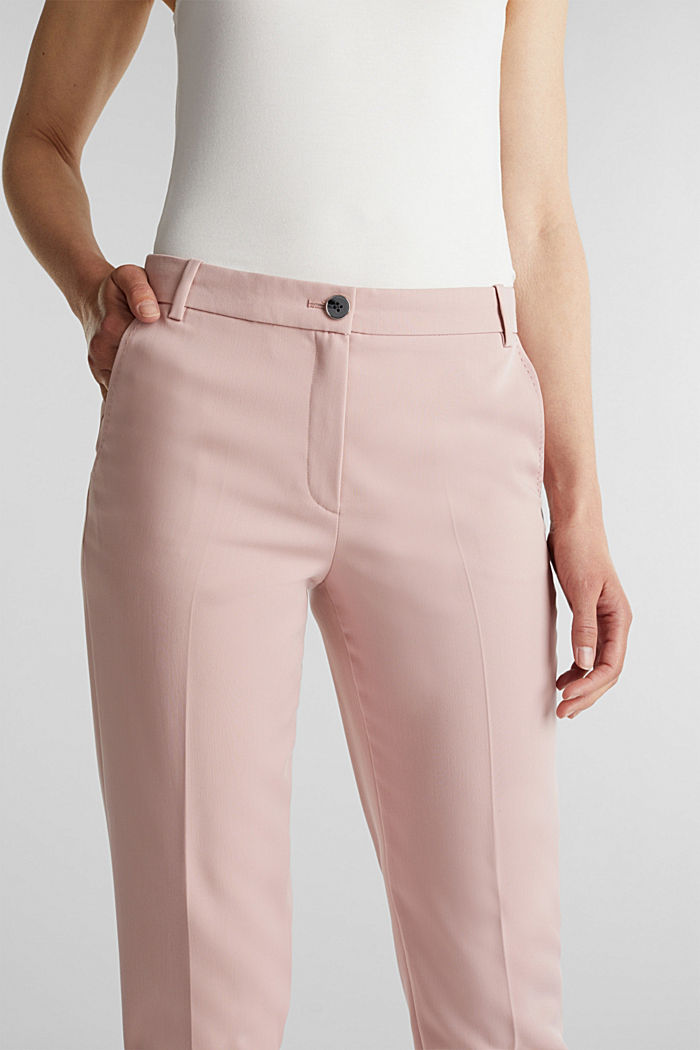 SPRING Mix + Match stretch trousers, OLD PINK, detail image number 2