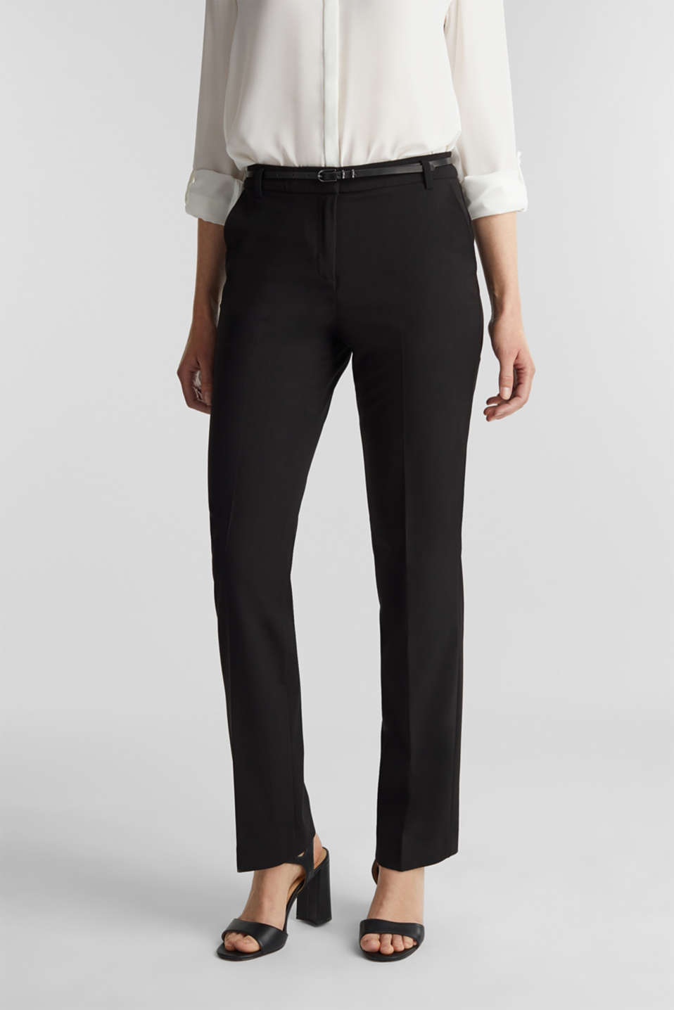 Esprit - Pantaloni elasticizzati PURE BUSINESS Mix + Match