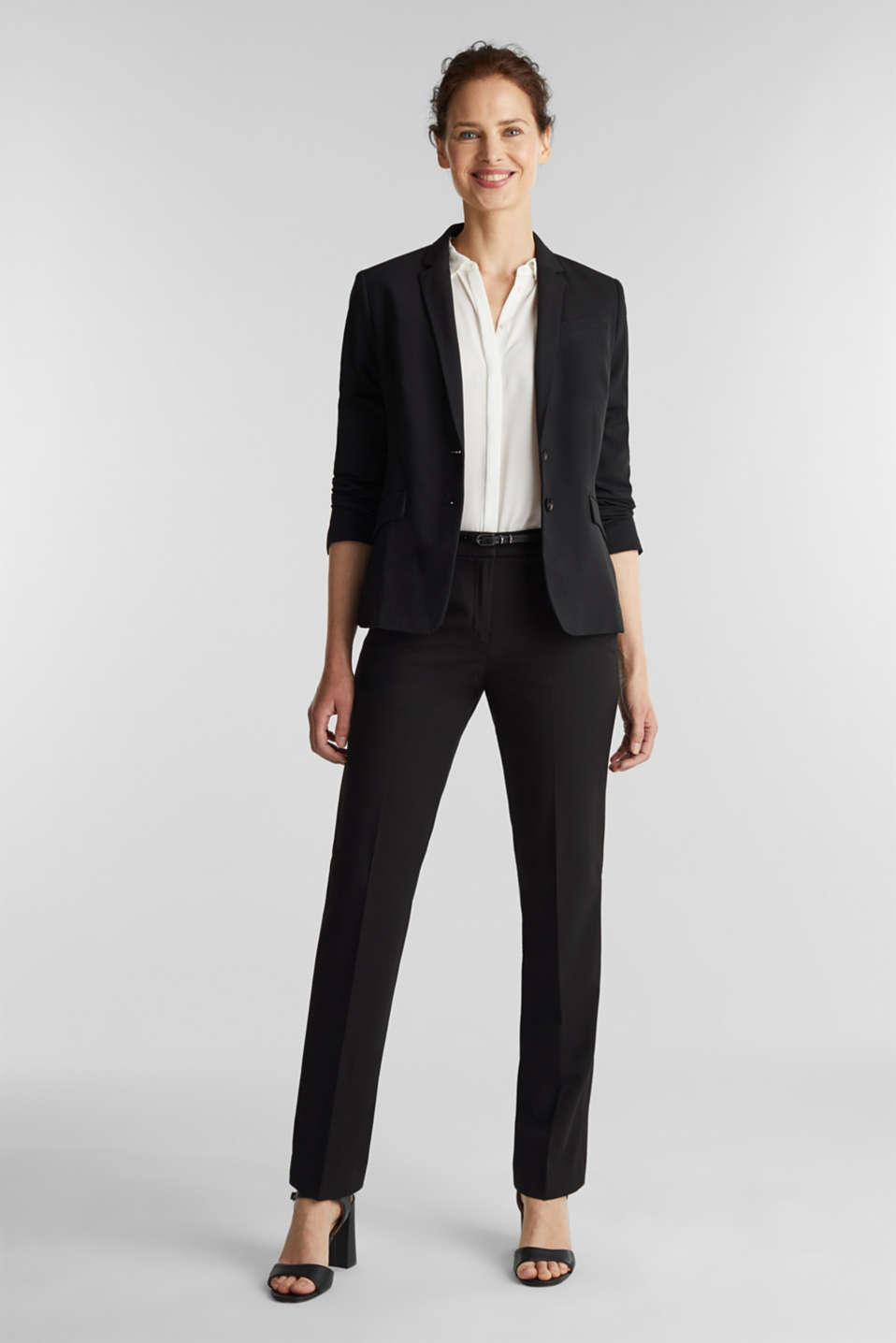 PURE BUSINESS mix + match trousers, BLACK, detail image number 5