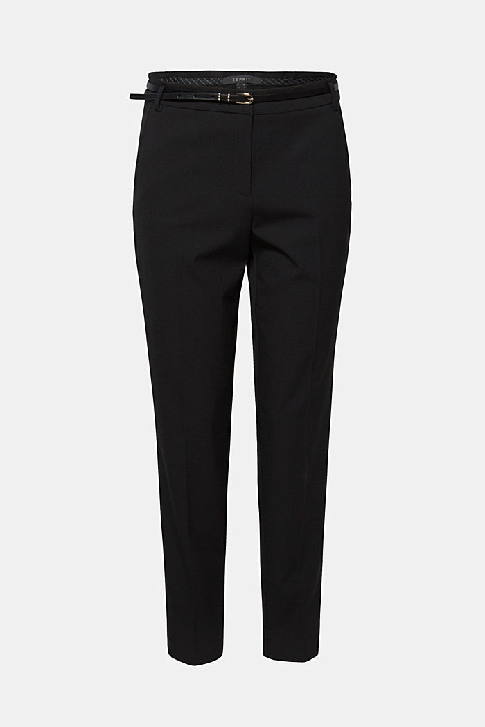PURE BUSINESS mix + match trousers, BLACK, overview
