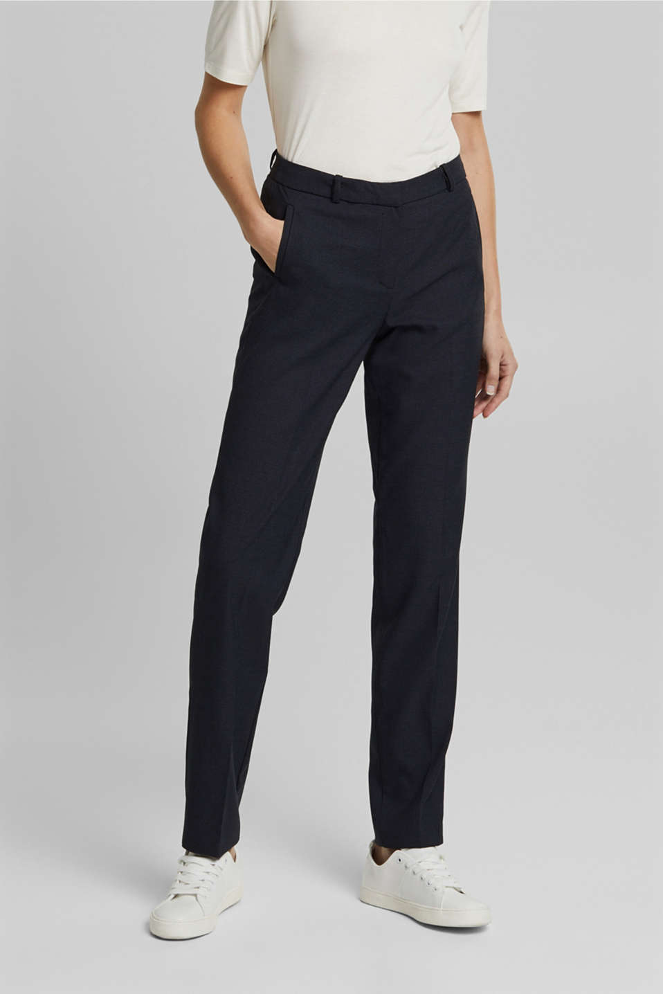 Esprit - STRUCTURE Mix + Match Stretch Trousers