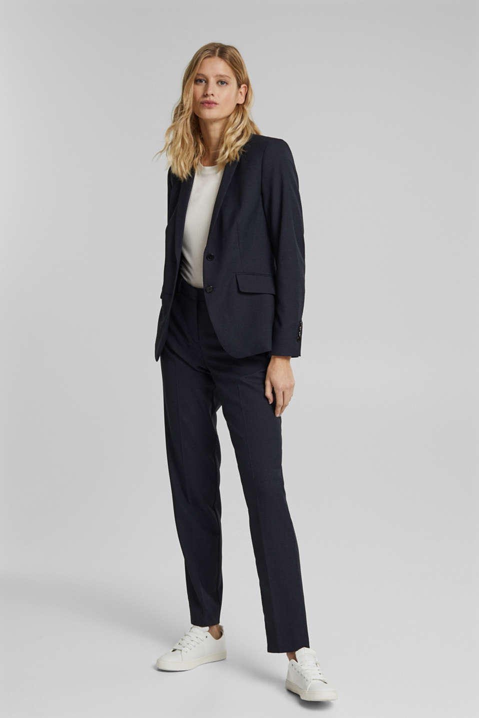 STRUCTURE mix + match trousers, NAVY 5, detail