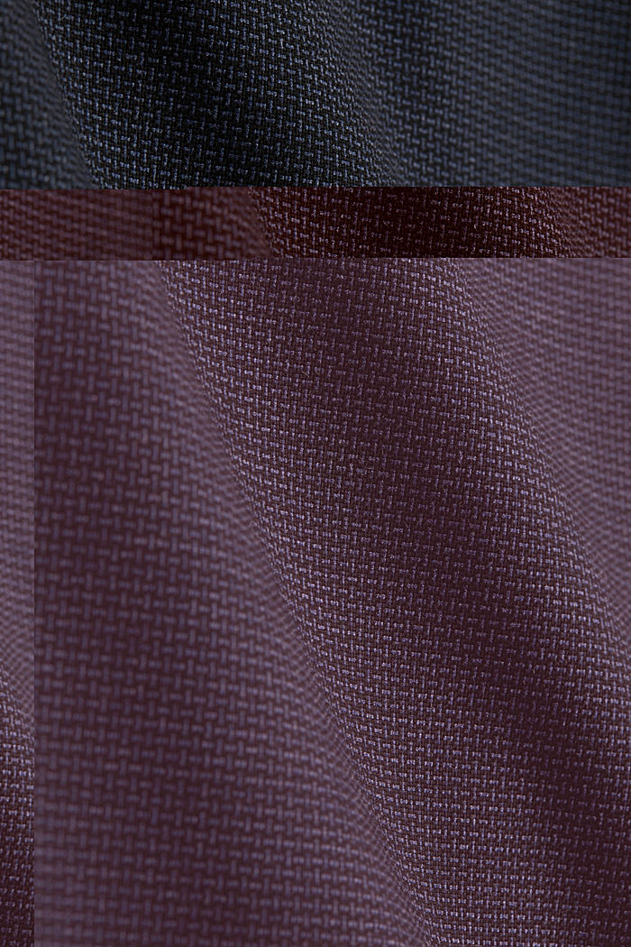 Gonna jacquard elasticizzata, NAVY, detail image number 4