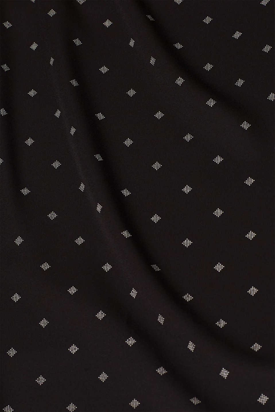 Crêpe blouse in a layered look, BLACK, detail image number 4