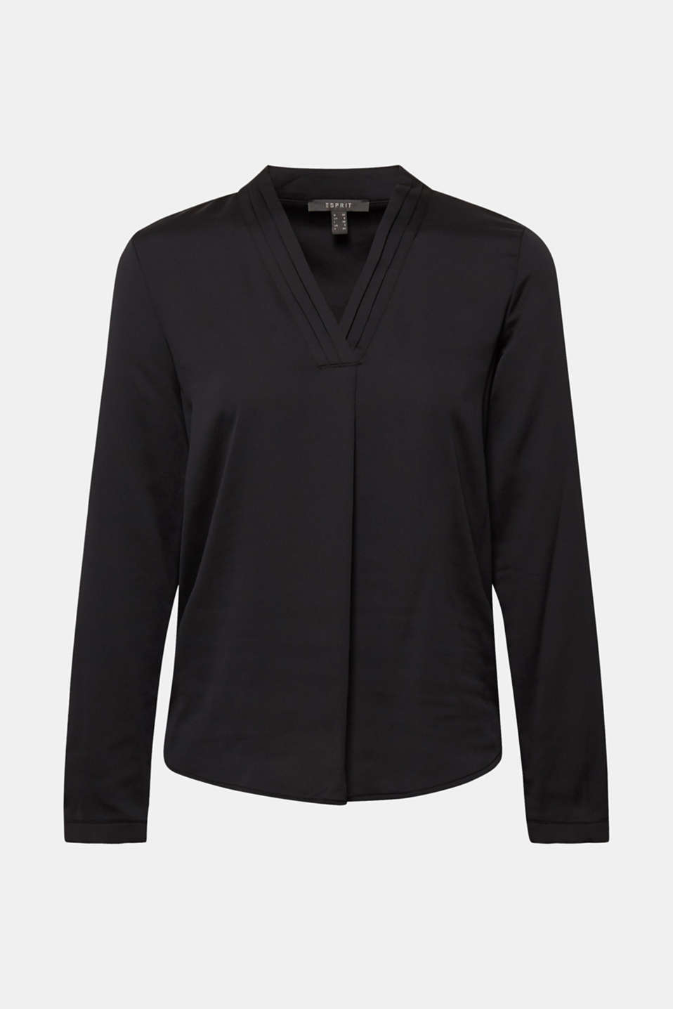 Blouses woven, BLACK, detail image number 7