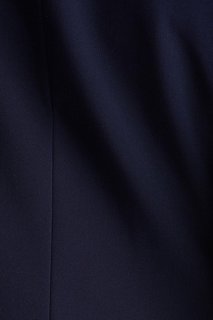 SPRING TWILL mix + match blazer, NAVY, detail image number 4