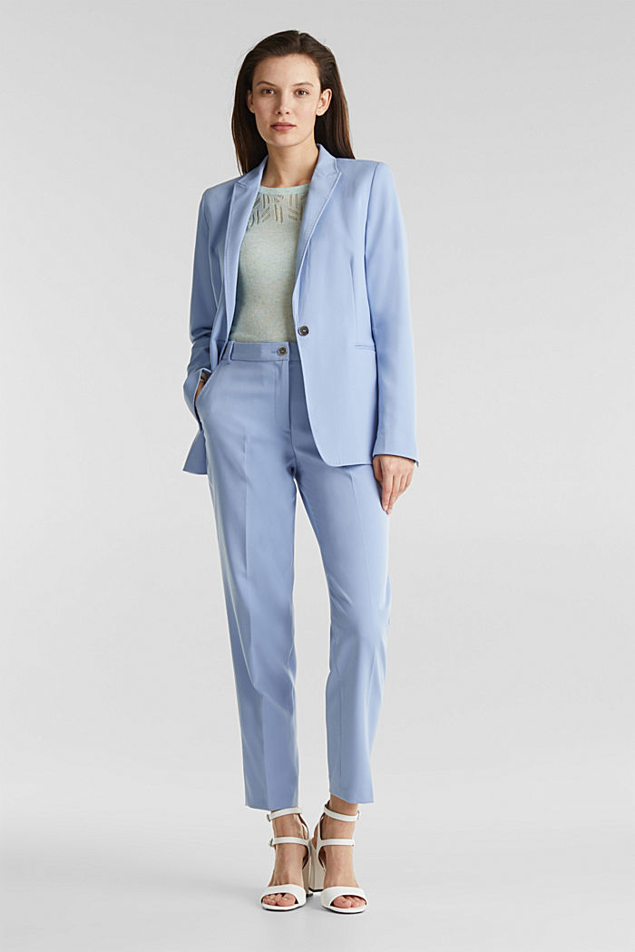 SPRING TWILL mix + match blazer, LIGHT BLUE, detail image number 1