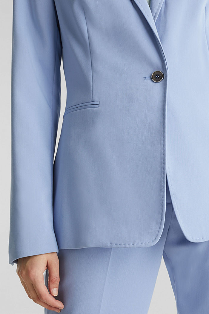 SPRING TWILL mix + match blazer, LIGHT BLUE, detail image number 2