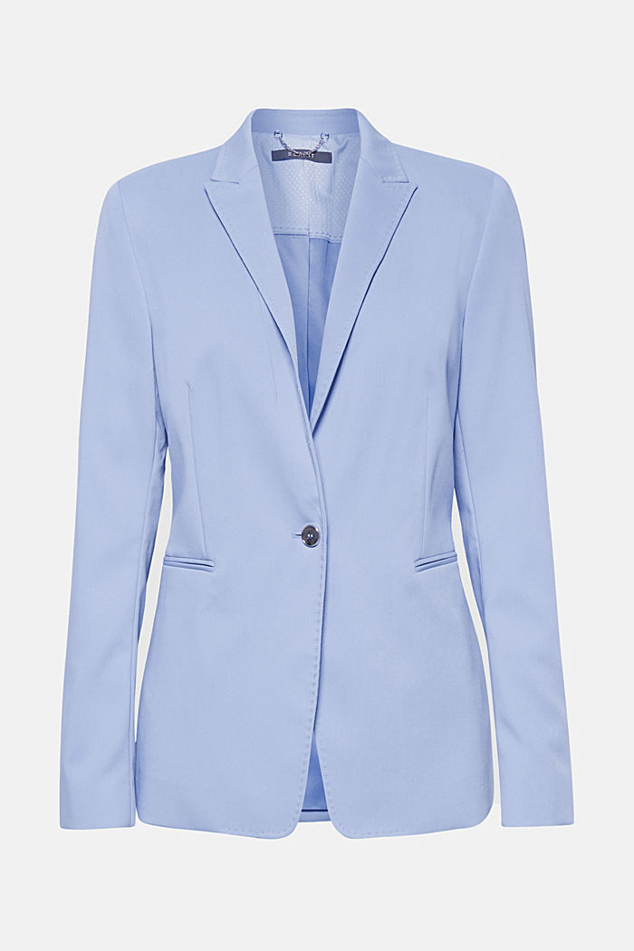 SPRING TWILL mix + match blazer, LIGHT BLUE, detail image number 7