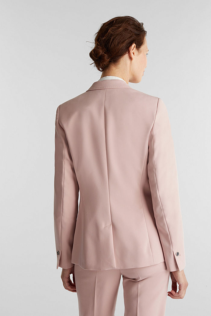 SPRING TWILL mix + match blazer, OLD PINK, detail image number 3