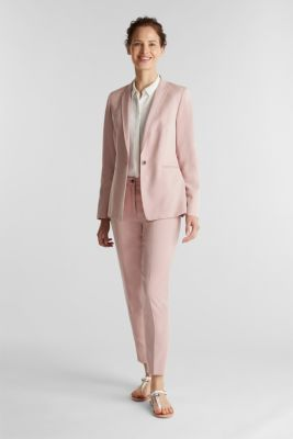 SPRING TWILL mix + match blazer, OLD PINK, detail