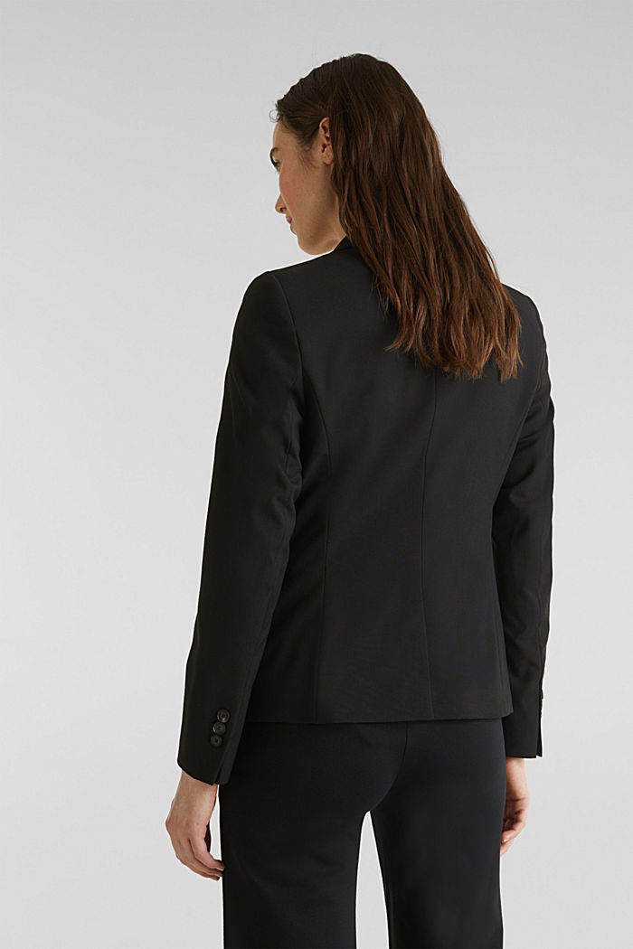 PURE BUSINESS mix + match blazer, BLACK, detail image number 3