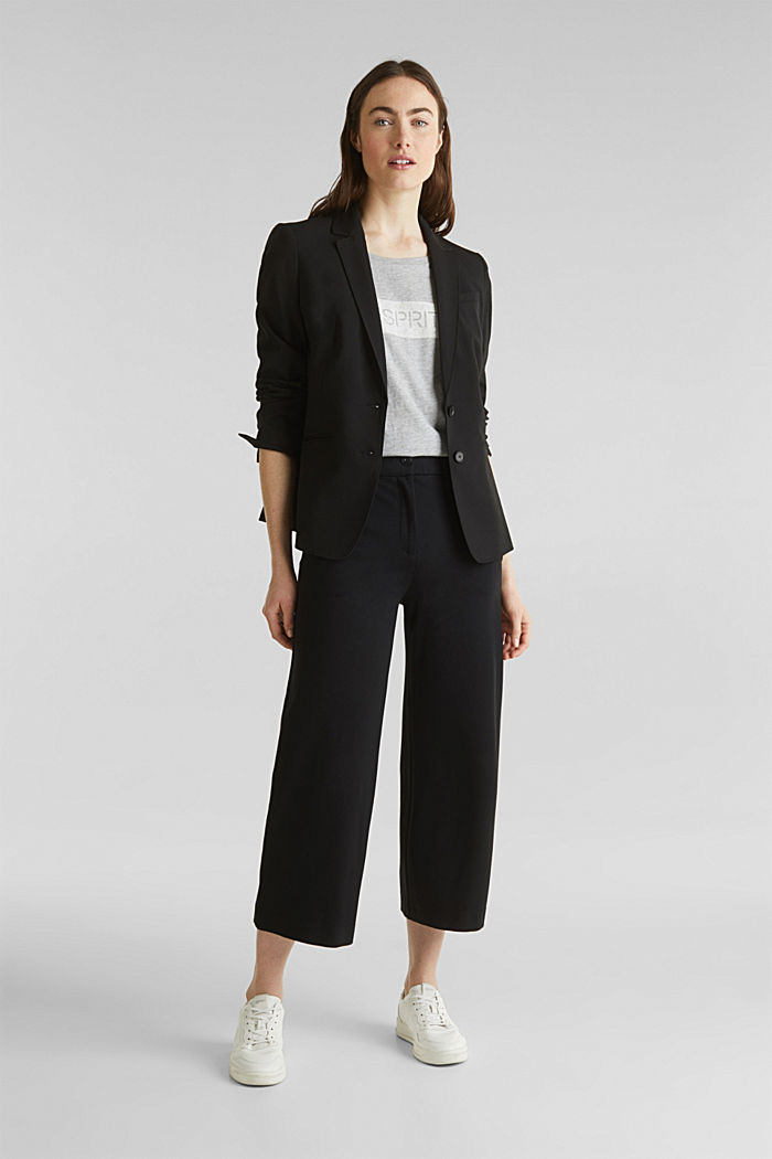 PURE BUSINESS mix + match blazer, BLACK, detail image number 5