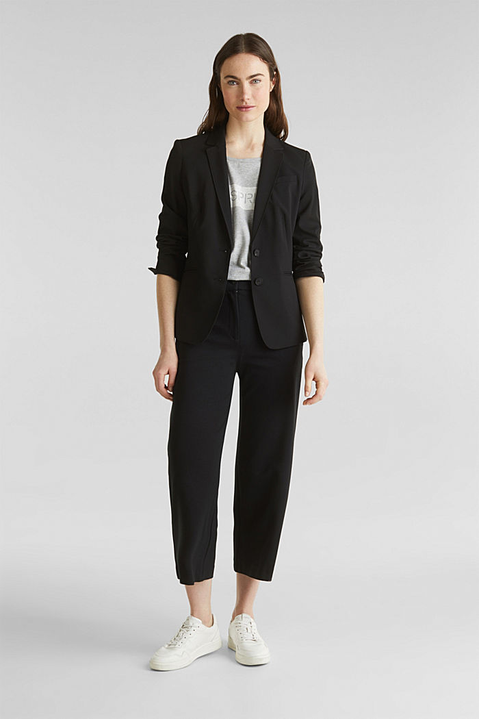 PURE BUSINESS mix + match blazer, BLACK, detail image number 1