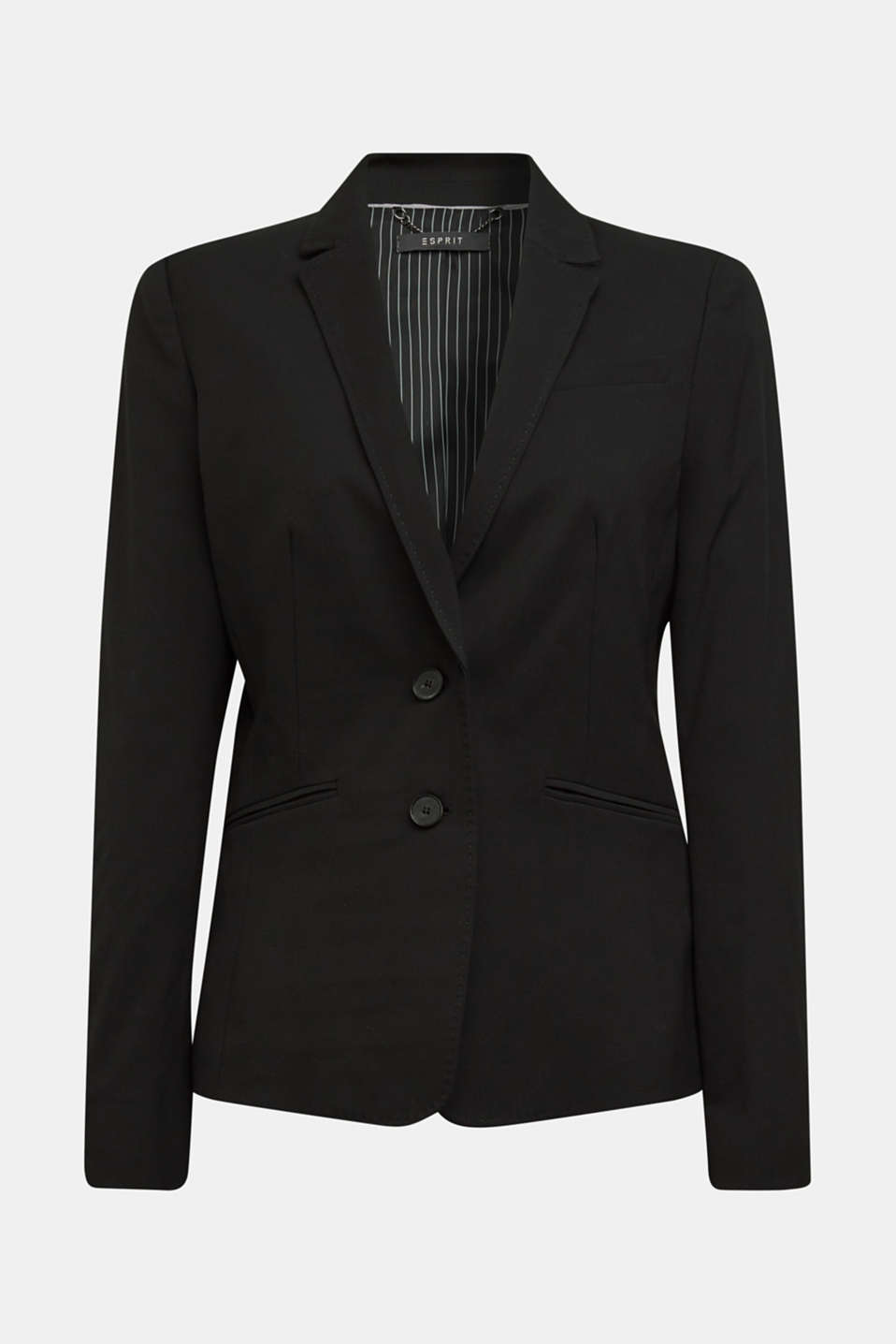 PURE BUSINESS mix + match blazer, BLACK, detail image number 7