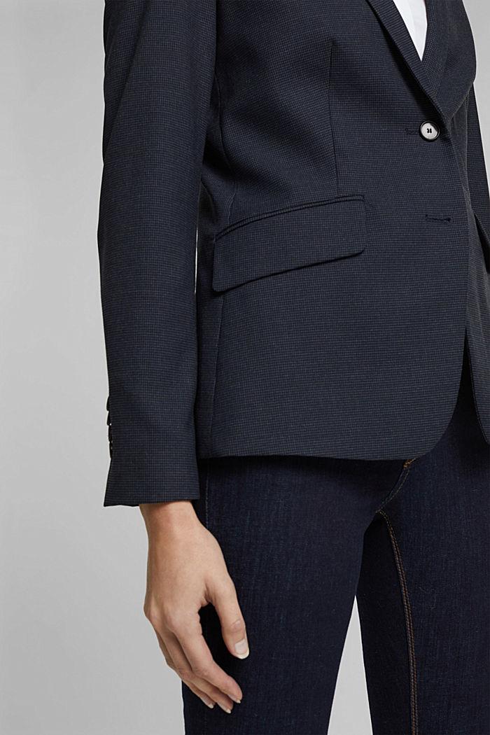 STRUCTURE - Blazer Mix + Match, NAVY, detail image number 2