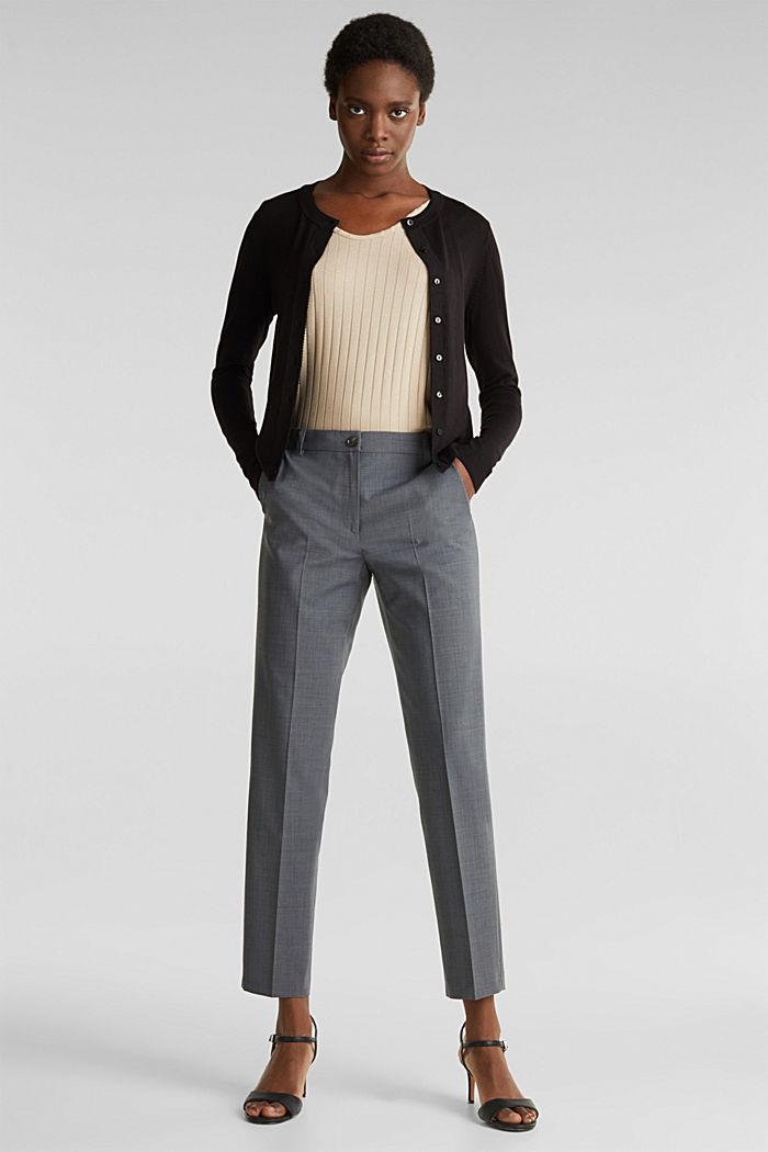 Cardigan mit LENZING™ ECOVERO, BLACK, detail image number 1