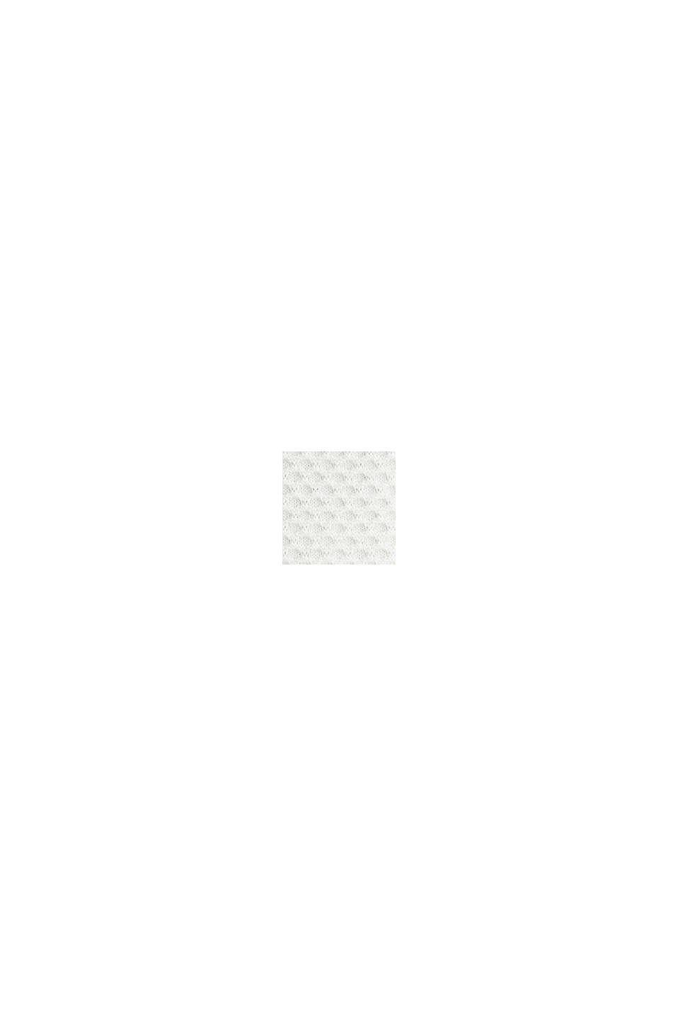 Struktur-Cardigan mit Schößchen, OFF WHITE, swatch