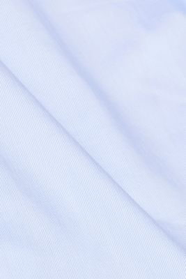 Shirt with mechanical stretch, 100% cotton, LIGHT BLUE, detail